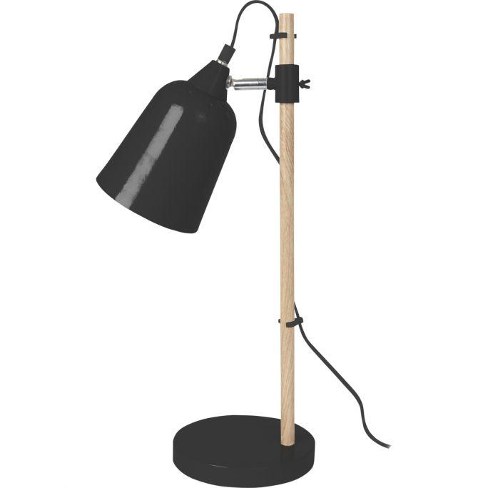 Tafellamp Wood zwart