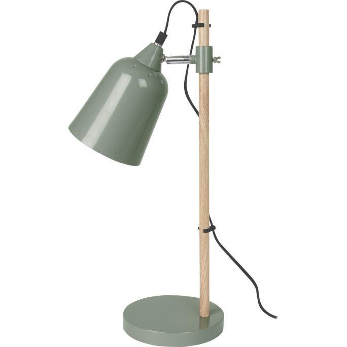 Tafellamp Wood groen
