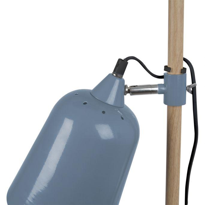 Tafellamp Wood blauw