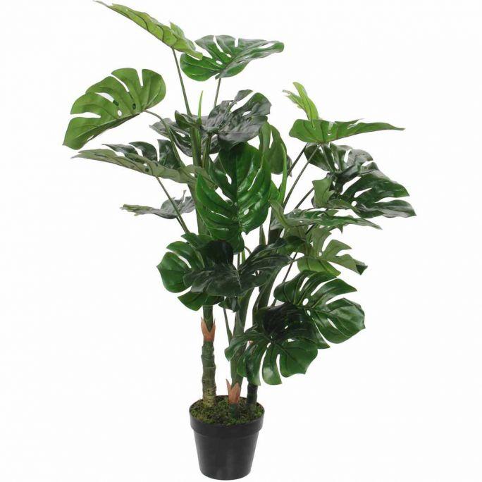 Monstera in pot groen - h100xd75cm