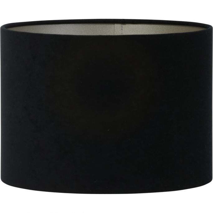 Lampenkap Velours 35-35-25 zwart