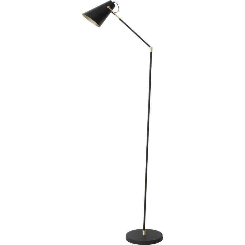 Vloerlamp Bodin zwart/goud