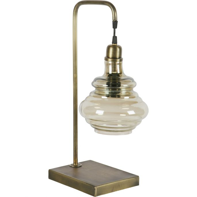 Tafellamp Be Pure Home Obvious antique brass