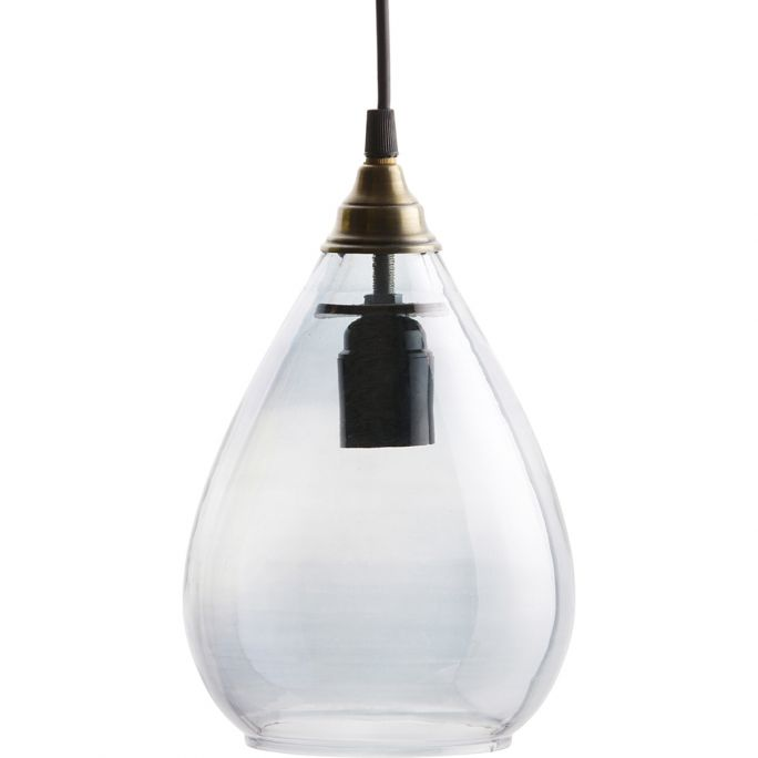 Hanglamp Be Pure Home Simple M grijs