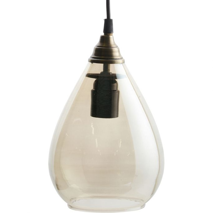 Hanglamp Be Pure Home Simple L antique brass