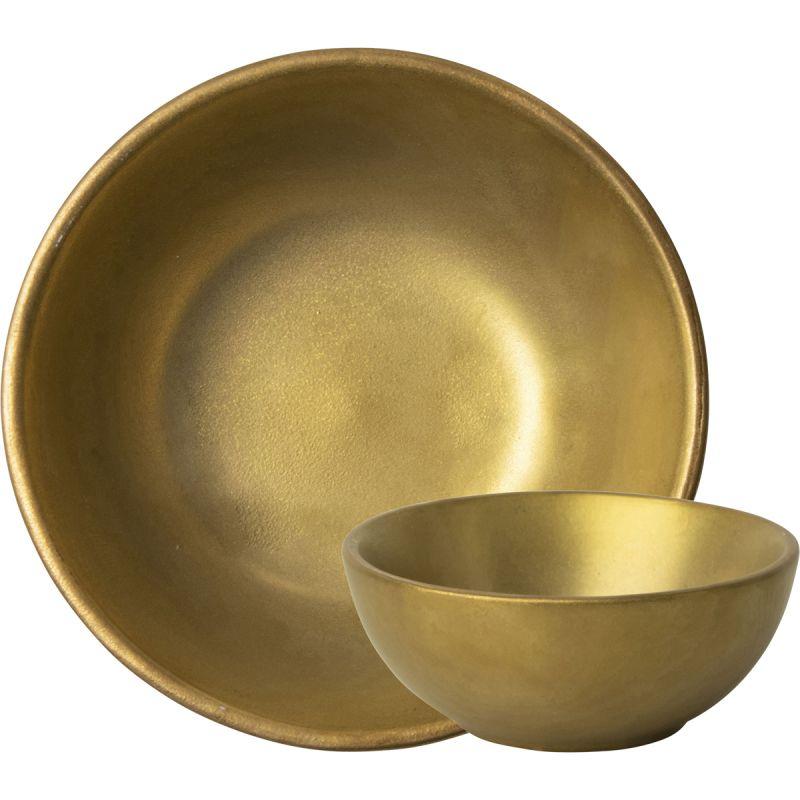 Kom TeeTee 9cm goud