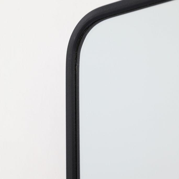 Spiegel Frederica zwart 50x70cm