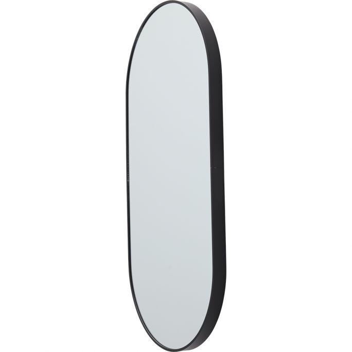 Spiegel Floriana zwart 150cm hoog