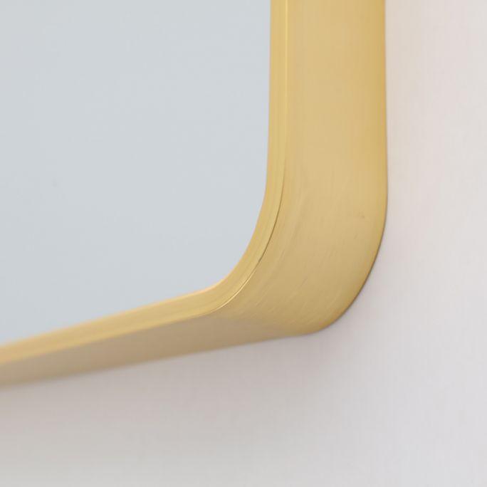Spiegel Frederica goud 80x80cm