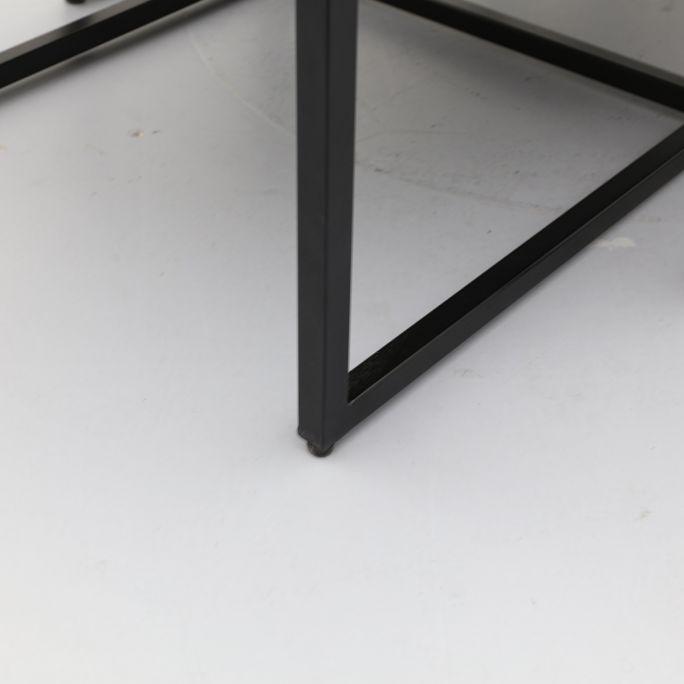 Salontafel Coco XL zwart set van 2