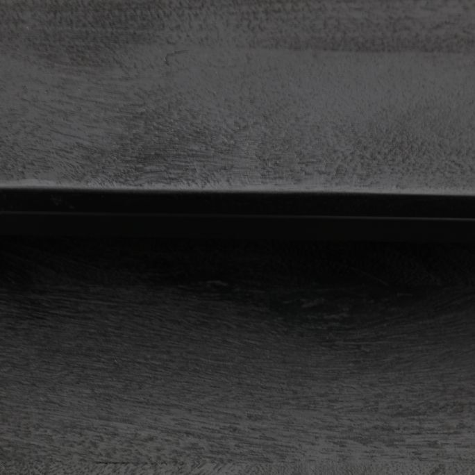 Salontafel Zaza zwart set van 2