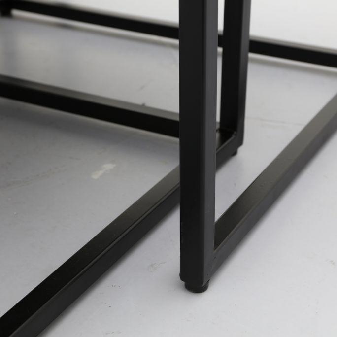 Salontafel Tulum zwart set van 3