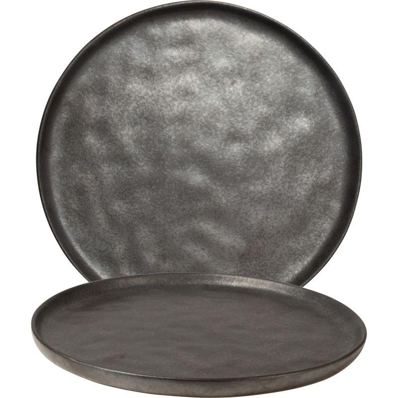 Bord TeeTee 20,5cm zwart glans