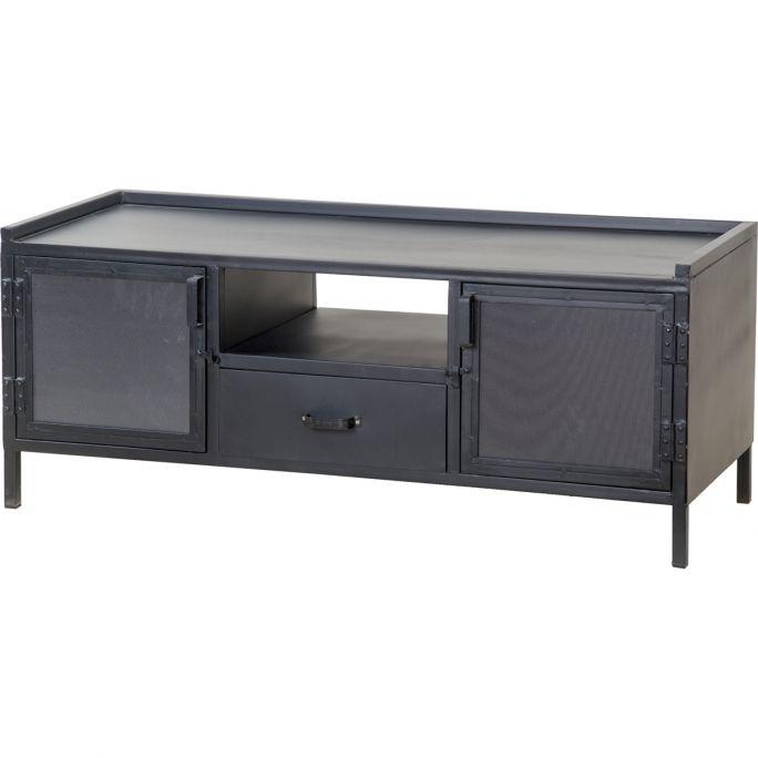 TV meubel Arizona 2 deuren/1 lade zwart