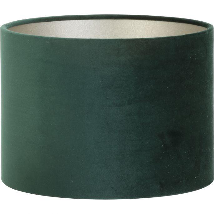 Lampenkap Velours 25-25-18cm groen