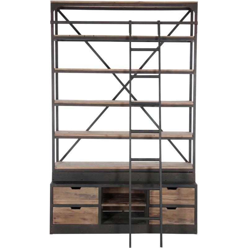 Image of Kast Bieb met ladder