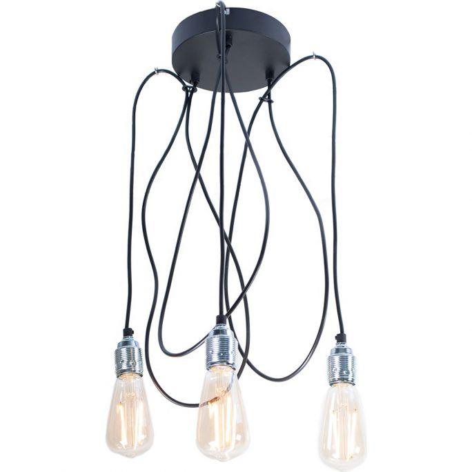 Hanglamp Maik 3 lichtpunten