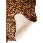 Koeienhuid Mini Leopard camel