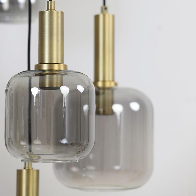 Hanglamp Loki 5-lichts rond