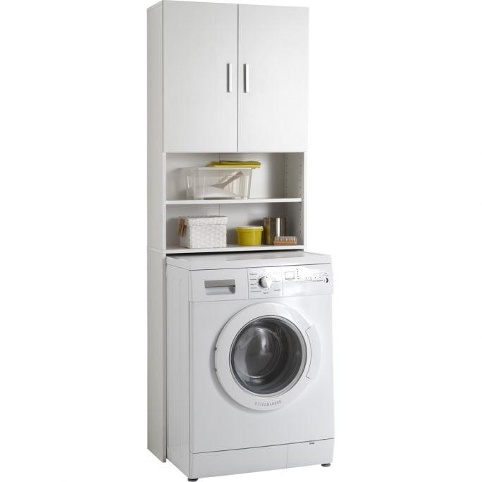 Wasmachinekast Olbia Wit