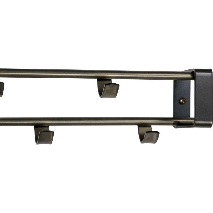 Kapstok Rex 1 staal 60x10cm