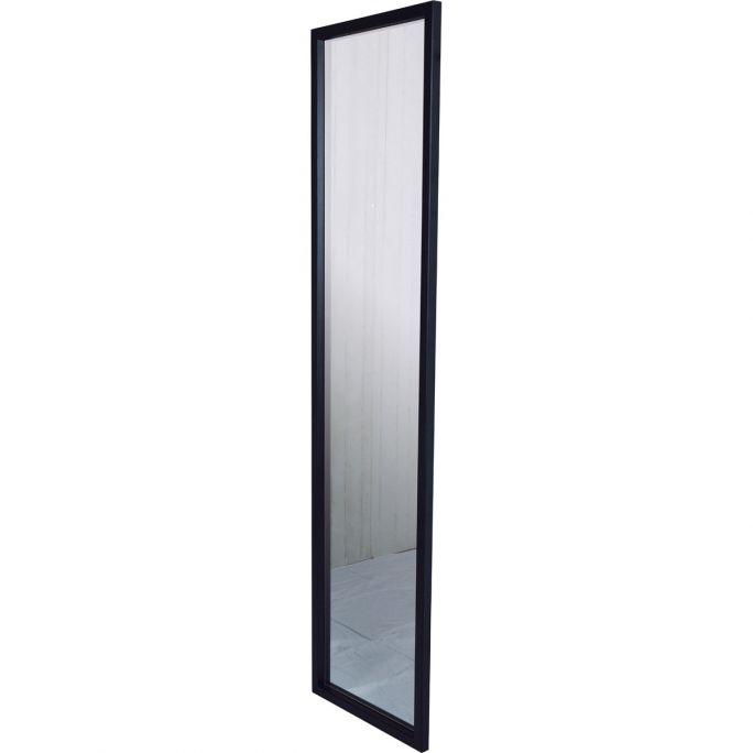 Spiegel Senza 46x185cm zwart