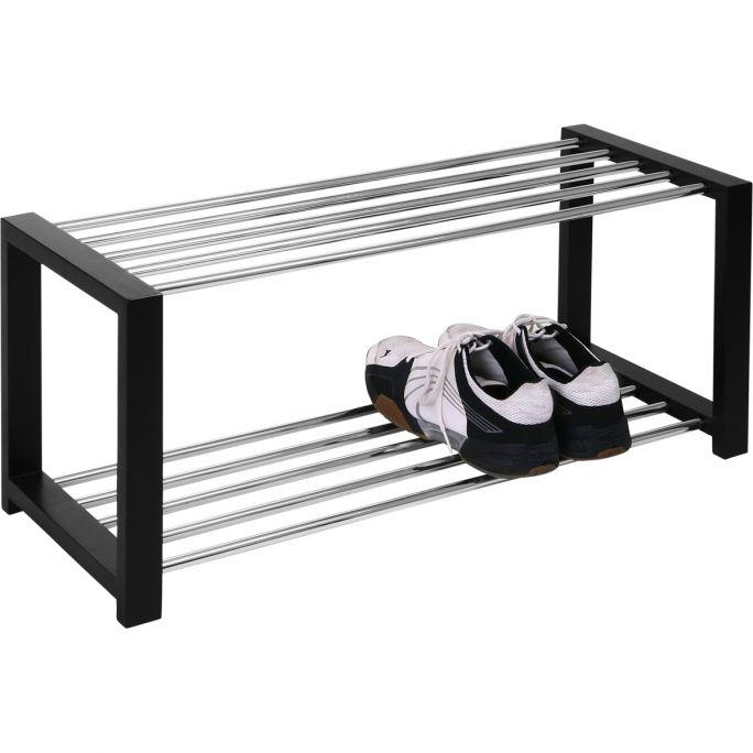 Schoenenrek Go 32x80 zwart gelakt
