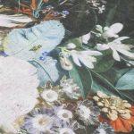 Vloerkleed Flores rond