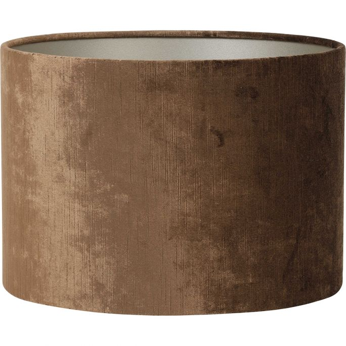 Lampenkap Gemstone 25-25-18 bruin