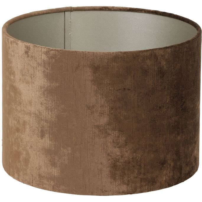 Lampenkap Gemstone 18-18-15cm bruin
