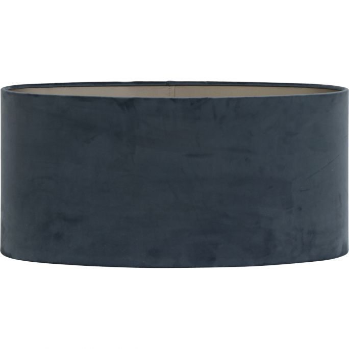 Lampenkap Oval 45-45-22 dusty blue