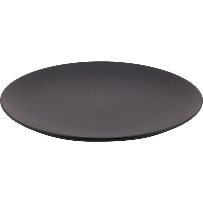 Bord vtwonen zwart 25,5cm