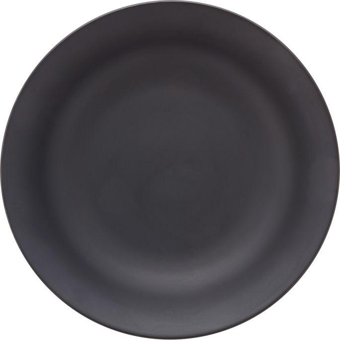 Pastabord vtwonen zwart 25,5cm