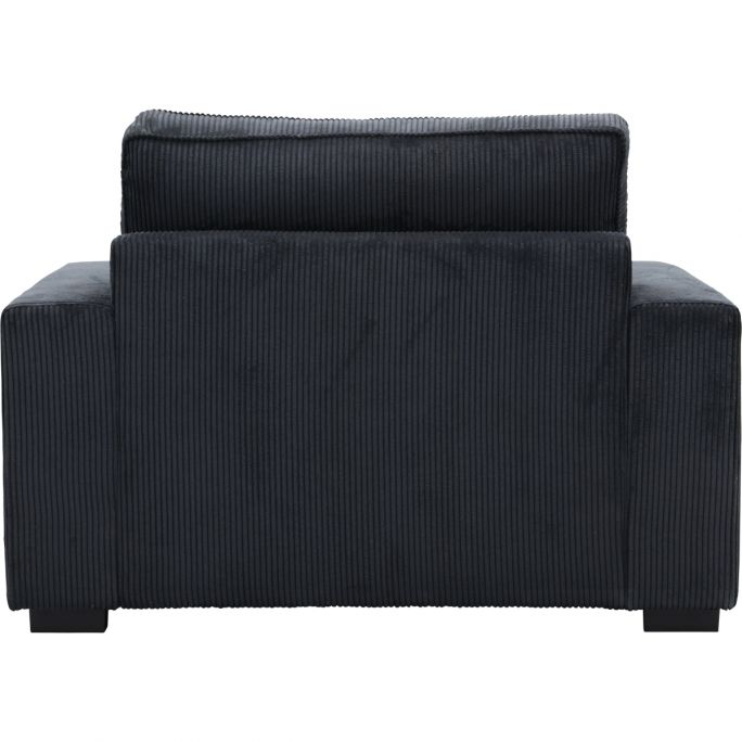 Loveseat Cocoon in Ribcord Antraciet