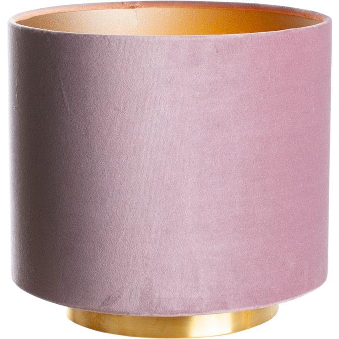 Lamp Hollywood, messing/velvet Castle Rose Pink