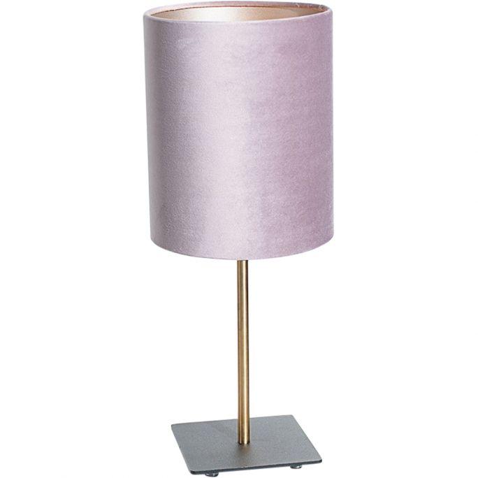 Tafellamp Sky incl. kap Ø18/h22 velvet Castle Rose Pink