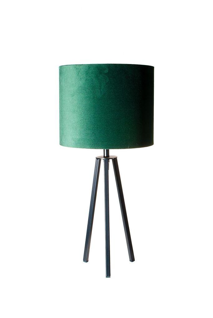 Tafellamp Lino incl. kap Ø25/h20 velvet Deep Forest