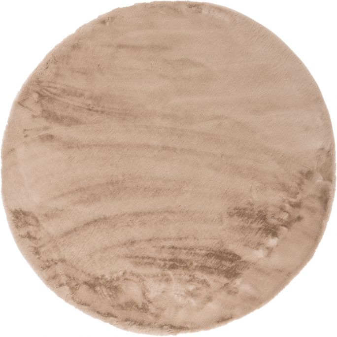 Vloerkleed Perry rond Taupe 13