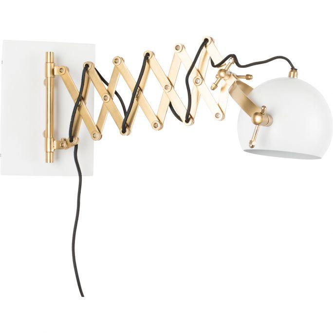 Wandlamp Svea wit