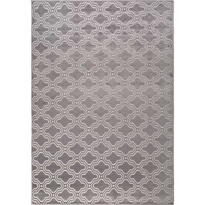 Vloerkleed Fe 160x230 grijs
