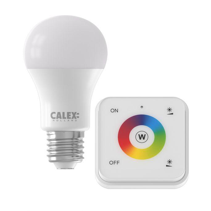 Calex Smart LED lamp gekleurd licht met afstandsbediening