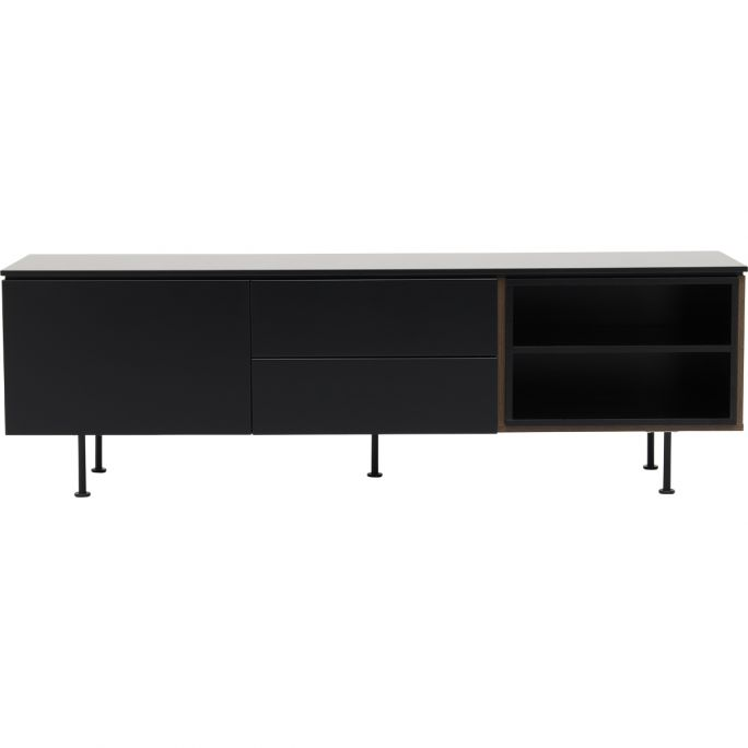 TV meubel Plain Black