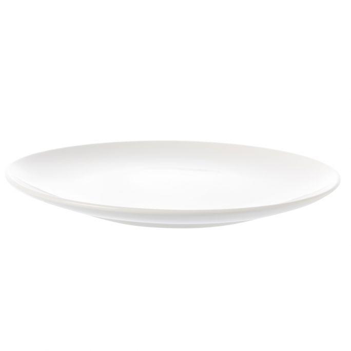 Bord vtwonen wit 25,5cm