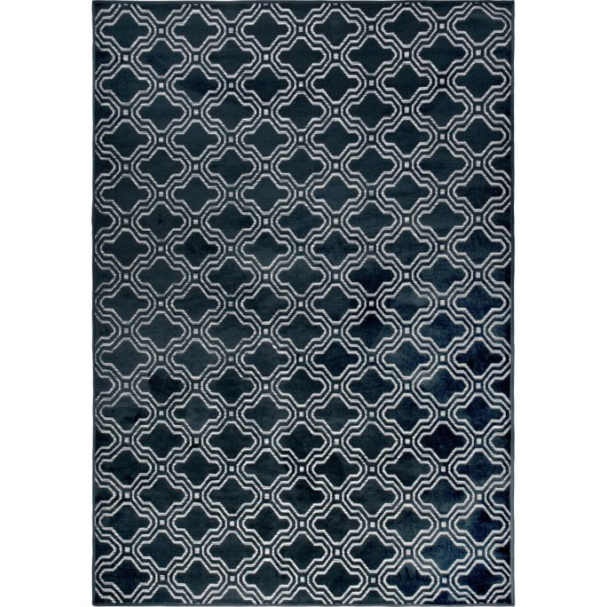 Vloerkleed Fe 160x230 blauw