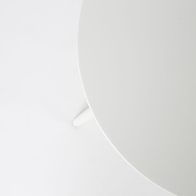 Bijzettafel Des set van 2 wit