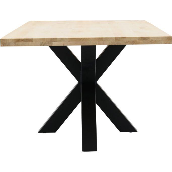 Eettafel Aspen met spinpoot 10x10