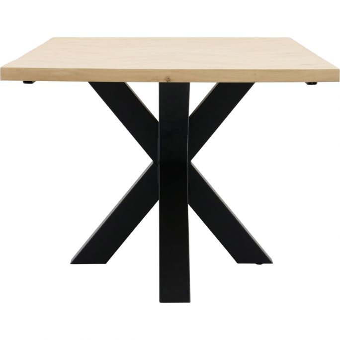 Eettafel Boston met metalen spinpoot 10x10