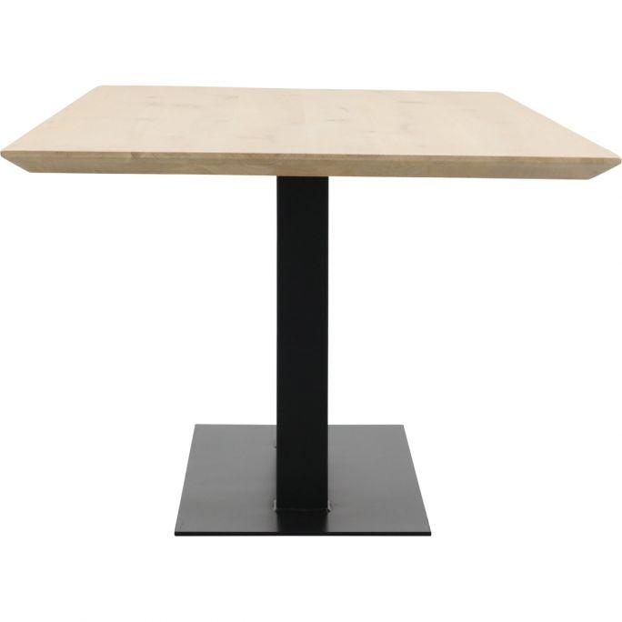Eettafel Conroe met metalen tafelvoet dubbel