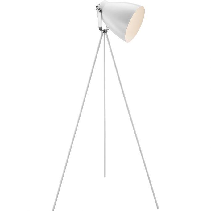 Vloerlamp Largo wit