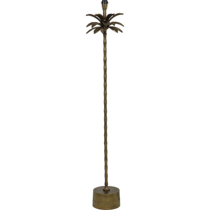 Lampvoet Palmspring 140cm hoog brons